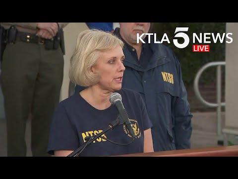 NTSB, L.A. Sheriff