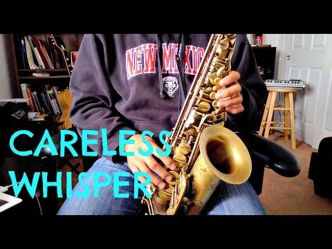 Careless Whisper Sax Tutorial