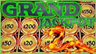 GRAND JACKPOT ON DRAGON LINK 🐲HAPPY & PROSPEROUS 🐲15 ORBS FIREBALLS COLLECTED 🐲(4) HANDPAYS MAJOR