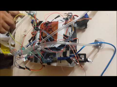 Wall Climbing Robot - Institute Technical Summer Project 2016 , IIT Bombay