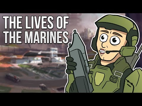 The Lives Of - The Marines