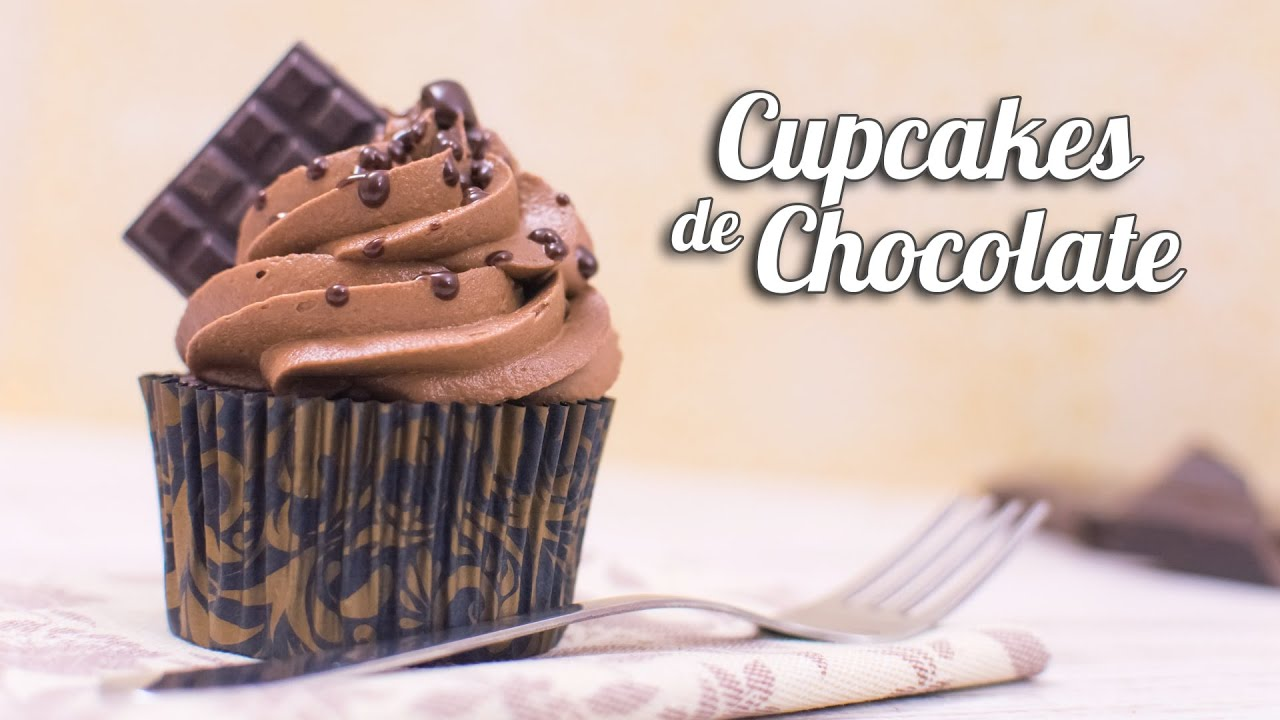 Cupcakes de Chocolate  Quiero Cupcakes  YouTube