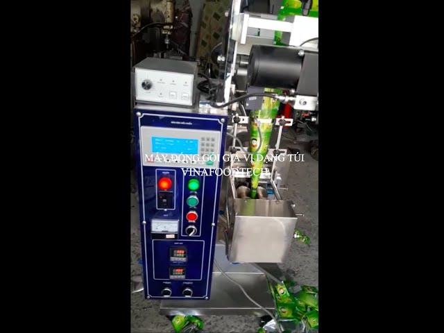 Máy đóng gói gia vị dạng túi Vinafoodtech - Nhanh hoàn vốn / Chi phí đầu tư bằng nhân công 6 tháng