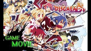 Disgaea D2: A Brighter Darkness - Game Movie | 1080p HD 60fps