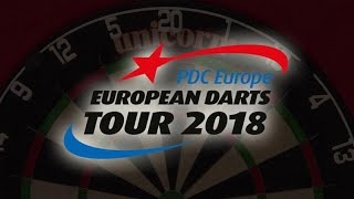 Steve Beaton v Martin Schindler German Darts Championship 2018 Round 2