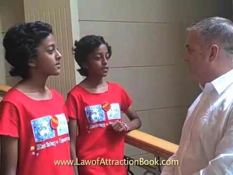 2009 - Michael Losier's 1st Interview with Law of Attraction twins, Kuala Lumpur, Malaysia