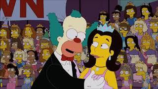 Симпсоны   самые смешные моменты Еврейская свадьба Красти#4