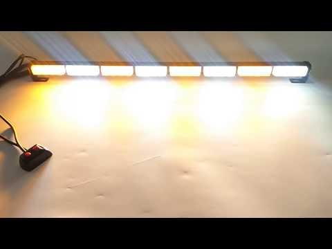 """35"""" LED Traffic Advisor Directional Flash Emergency Strobe Light Bar"""