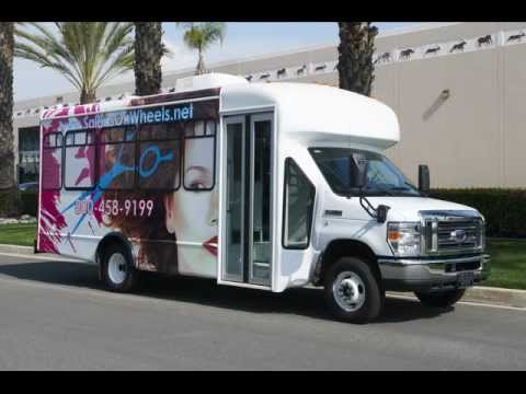salon bus limousine limo by quality coachworks youtube. Black Bedroom Furniture Sets. Home Design Ideas