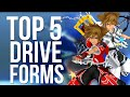 Kingdom Hearts 2 - Top 5 Drive Forms