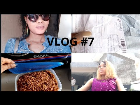 Vlog7/ A Wedding in university of Ibadan Nigeria/PACKAGE FROM ALIEXPRESS/ life of a nigeria blogger