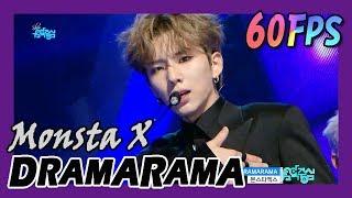 60FPS 1080P | MONSTA X - DRAMARAMA, 몬스타엑스 - 드라마라마 Show Music Core 20171125