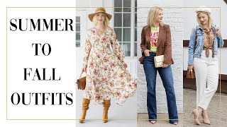 HOW TO TRANSITION OUTFITS FROM SUMMER TO FALL