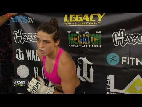 Legacy 61 Highlights : Mackenzie Dern Scores Her Second Win With a Crazy Submission