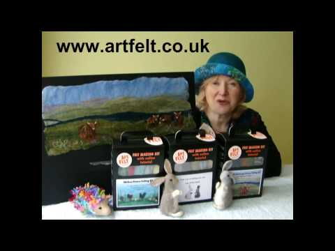 Felt making kits by Artfelt
