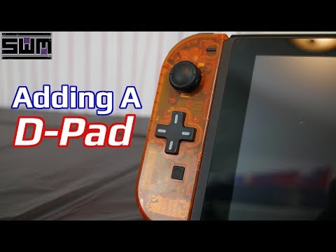 Let's Give The Left Joycon A D-Pad!