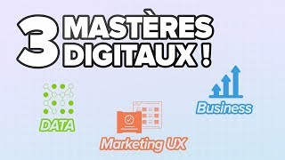 MASTÈRES Data, UX Marketing, Business