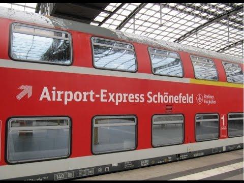 Schoenefeld airport to Alexanderplatz city center Berlin Germany