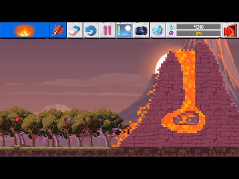 The Sandbox Evolution - How to create a Volcano