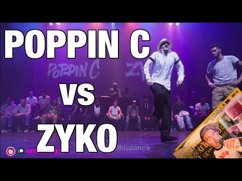 POPPIN C VS ZYKO: I LOVE THIS DANCE with Commentary