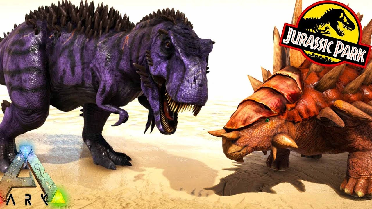 Ark New Bosses Omega 9 Rex Boss Ankylo Boss Ark