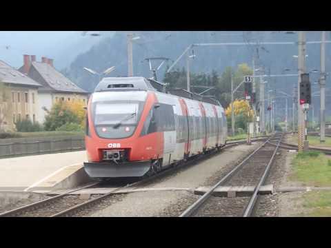 Viele viele Züge in St. Michael (Oberstmk) am 30.9.2017
