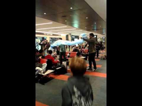At Argentina airport
