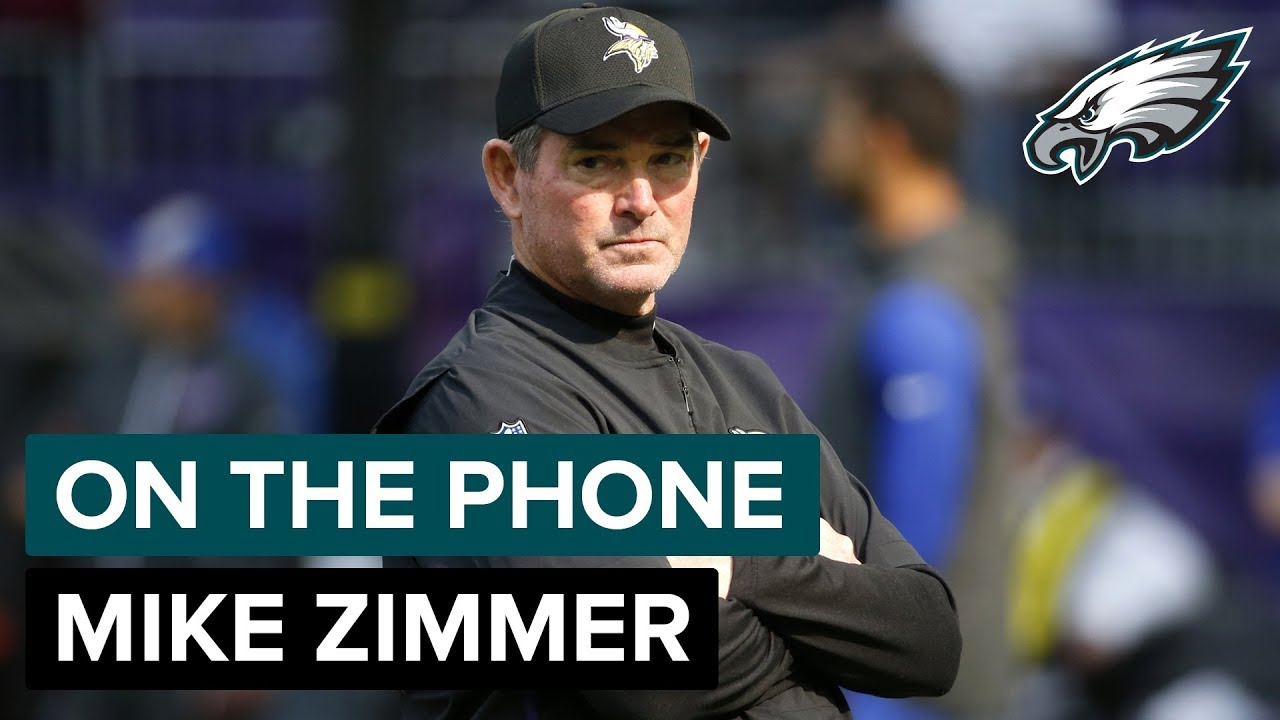 On The Phone  Vikings Head Coach Mike Zimmer  efcd80bb3