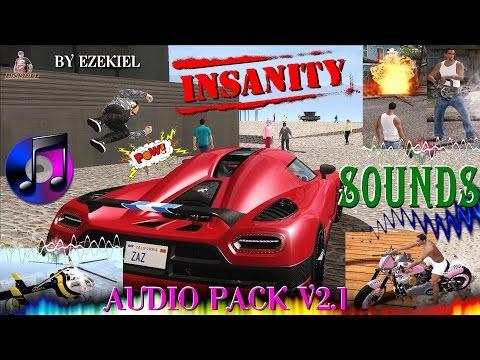 PACK DE SONS INSANITY REMASTERIZADO EM HD BY EZEKIEL GTA SA FULL HD 1080p60