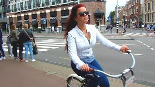 Exploring AMSTERDAM & the Red Light District: Sex, Drugs & Bicycles