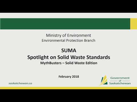 Spotlight on Solid Waste Standards (E2) – Convention 2018