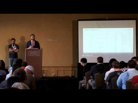OWASP AppSecUSA 2012: Put Your Robots to Work: Security Automation at Twitter