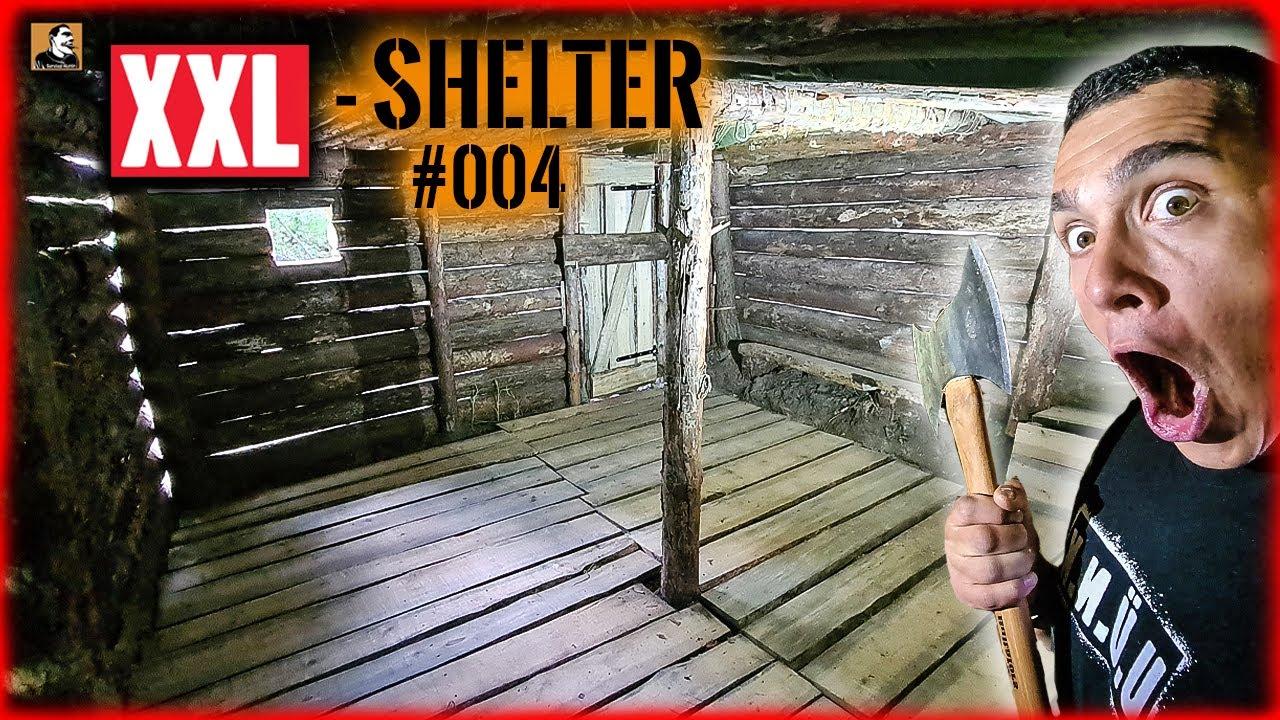 Download XXL SHELTER bauen #004   mit Sägewerk FUßBODEN & Tür gebaut   Survival Mattin