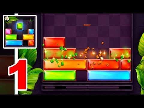 Jewel Blast   Block Drop Puzzle Game iOS & Android Gameplay