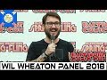 Wil Wheaton Star Trek TNG The Big Bang Theory Panel Baltimore Comic Con 2018 mp3