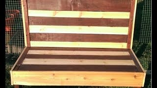 How To Make A Pallet Bench. Making A Garden Bench From An Old Pallet.