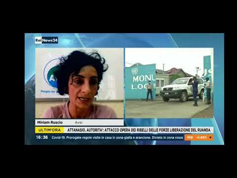 Attacco ambasciatore RD Congo. Miriam Ruscio (AVSI) a RaiNews24