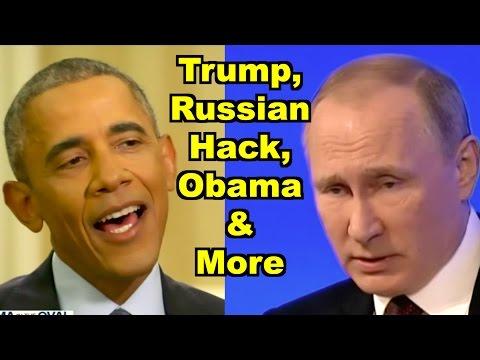 Trump, Russian Hack, Obamacare - Barack Obama, Glenn Greenwald MORE! LV Sunday LIVE Clip Roundup 194