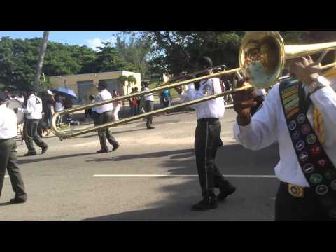 Sda Pathfinder band youth March 2015