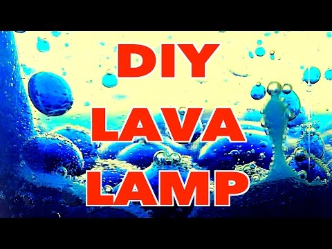 How To Make Diy Lava Lamp With Alka