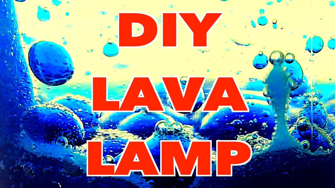 How To Make A DIY Lava Lamp With Alka Seltzer   YouTube