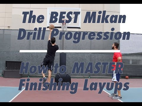 The BEST Mikan Drill Progression | How to MASTER Finishing Layups