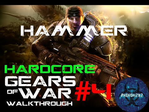 Gears Of War Gameplay 4 [MAXED OUT] HD 4850 DX 10