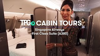 Cabin Tour: Singapore Girl Shows Off the Incredible New A380 Suite