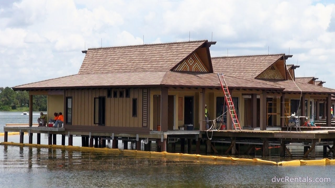 Polynesian Village Resort Update Overwater Bungalow