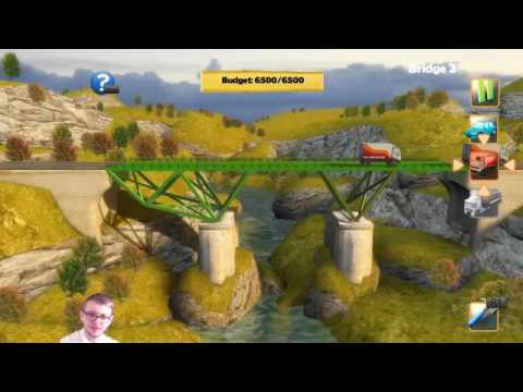 Bridge Constructer- LIVE - LET'S!.. Build bridges? #YouTubeGaming