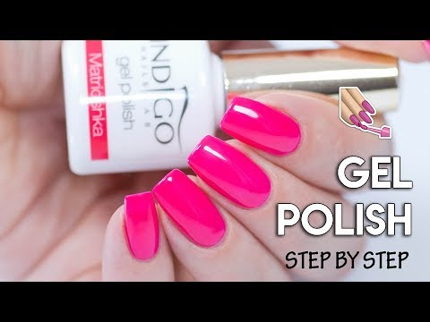 HOW To Apply Gel Polish On Natural Nails