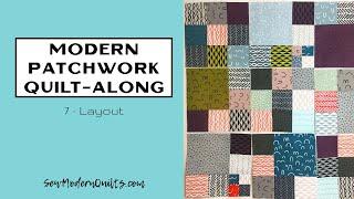 Sew Modern Quilts: Modern Patchwork Quilt-Along Layout