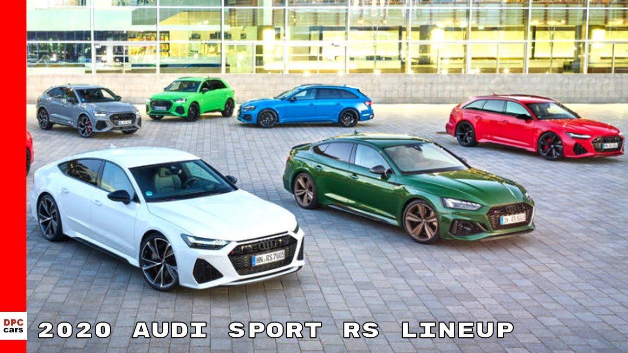 2020 Audi Sport Product Lineup Youtube