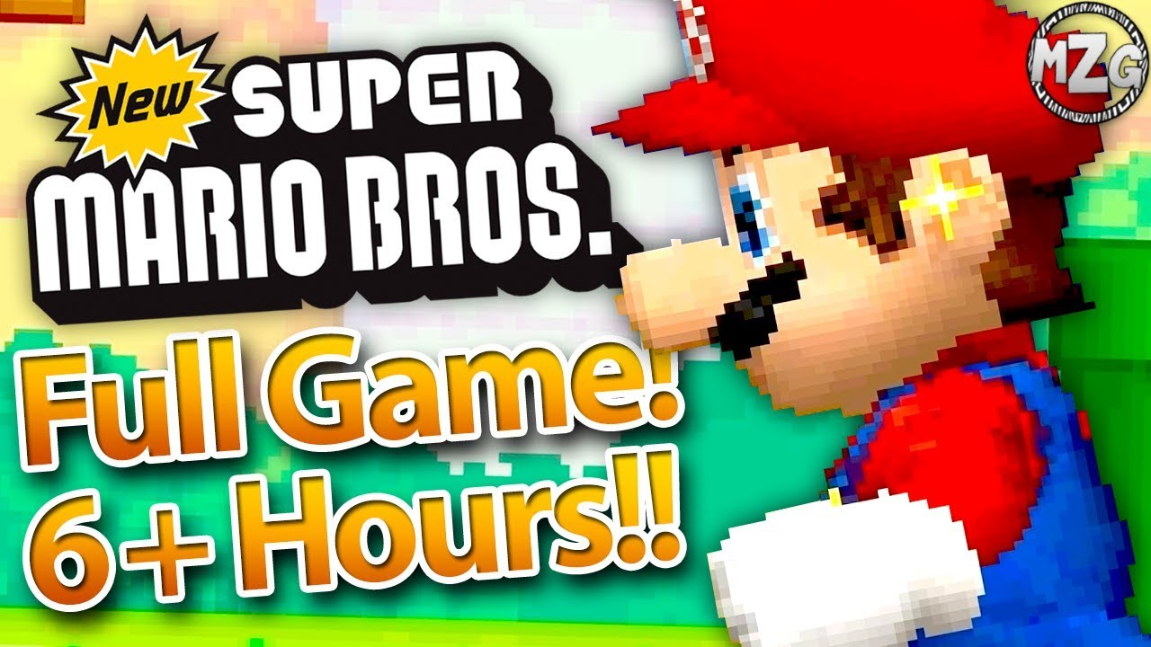 New Super Mario Bros Ds Full Game Walkthrough Full